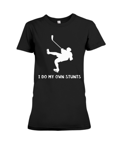 NEW I DO MY OWN STUNTS HOCKEY SHIRT
