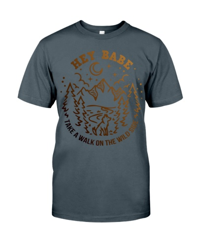 HEY BABE - CAMPING SHIRT