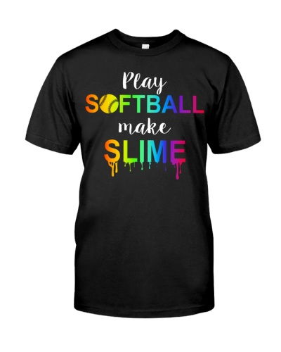 PLAY SOFTBALL MAKE SLIME