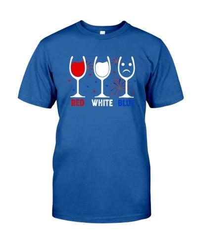 RED WHITE BLUE - WINE