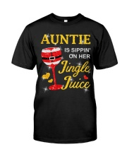 AUNTIE IS SIPPIN' ON HER JINGLE JUICE Premium Fit Mens Tee thumbnail