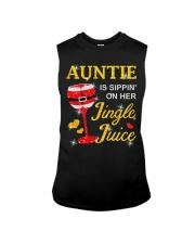 AUNTIE IS SIPPIN' ON HER JINGLE JUICE Sleeveless Tee thumbnail