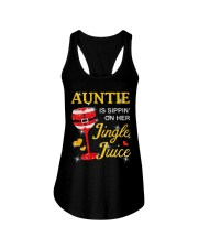 AUNTIE IS SIPPIN' ON HER JINGLE JUICE Ladies Flowy Tank thumbnail
