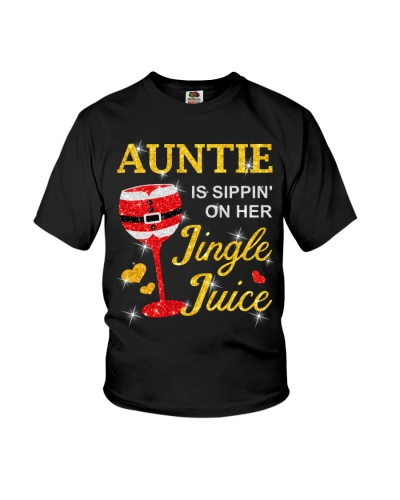 AUNTIE IS SIPPIN' ON HER JINGLE JUICE