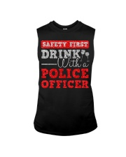 DRINK WITH POLICE OFFICER Sleeveless Tee thumbnail
