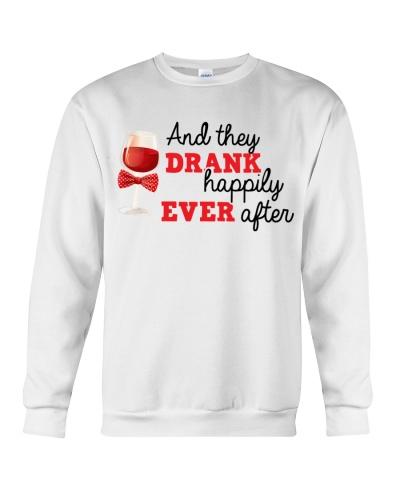 DRANK HAPPILY - WINE SHIRT