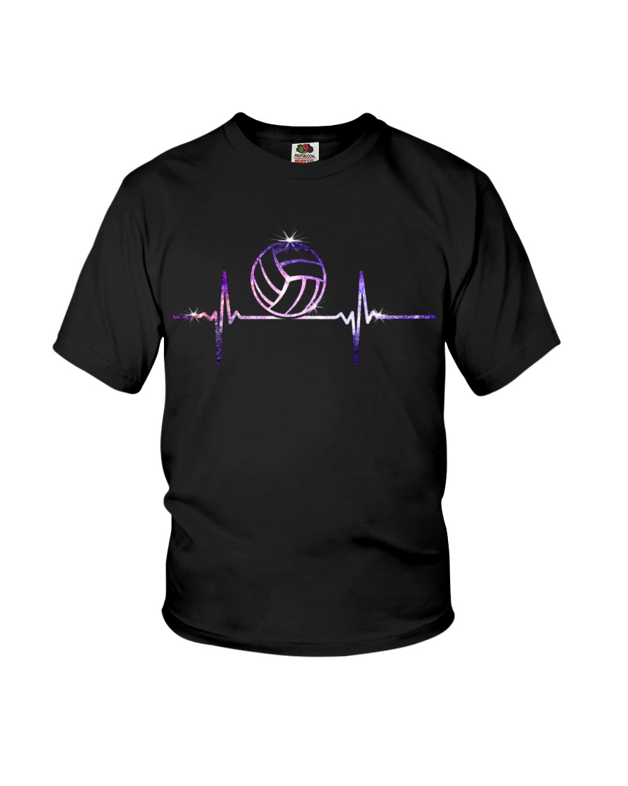 VOLLEYBALL HEART BEAT Youth T-Shirt