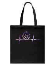 VOLLEYBALL HEART BEAT Tote Bag front
