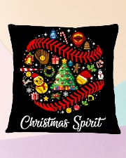 SOFTBALL PILLOW - LIMITED EDITION Square Pillowcase aos-pillow-square-front-lifestyle-25