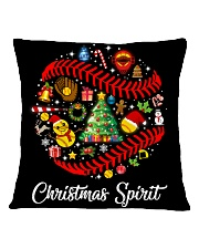 SOFTBALL PILLOW - LIMITED EDITION Square Pillowcase back