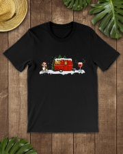 BEAGLE CAMPING AND WINE - LIMITED EDITION  Premium Fit Mens Tee lifestyle-mens-crewneck-front-18