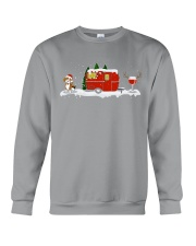 BEAGLE CAMPING AND WINE - LIMITED EDITION  Crewneck Sweatshirt front