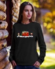 BEAGLE CAMPING AND WINE - LIMITED EDITION  Crewneck Sweatshirt lifestyle-unisex-sweatshirt-front-7