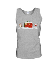 BEAGLE CAMPING AND WINE - LIMITED EDITION  Unisex Tank front