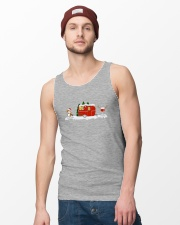 BEAGLE CAMPING AND WINE - LIMITED EDITION  Unisex Tank lifestyle-unisex-tank-front-3