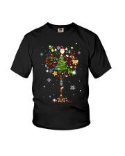CHIRSTMAS GRASS SNOW Youth T-Shirt thumbnail
