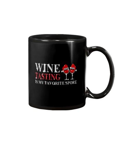 WINE TASTING IS MY FAVORITE SPORT
