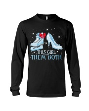THIS GIRL LOVES THEM BOTH   Long Sleeve Tee thumbnail