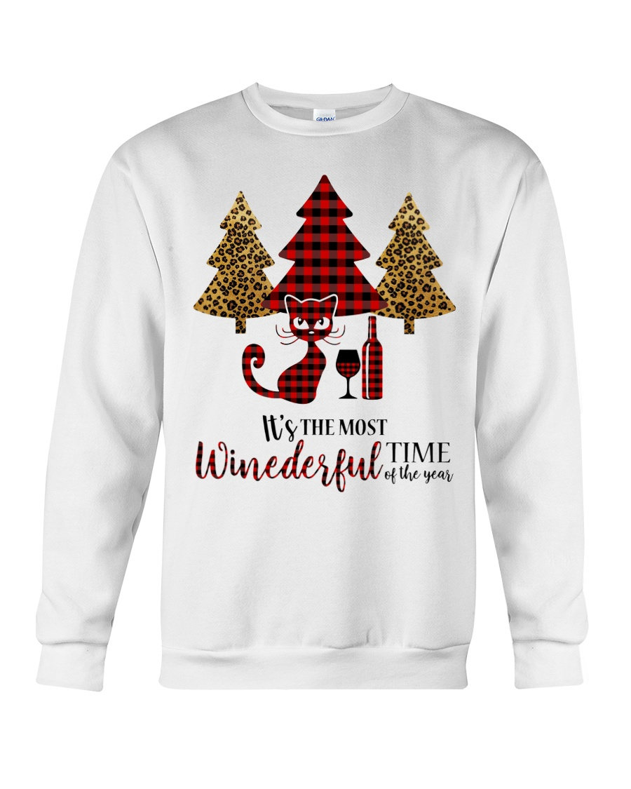 IT'S THE MOST WINEDERFUL TIME OF THE YEAR Crewneck Sweatshirt