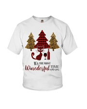 IT'S THE MOST WINEDERFUL TIME OF THE YEAR Youth T-Shirt thumbnail
