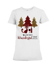 IT'S THE MOST WINEDERFUL TIME OF THE YEAR Premium Fit Ladies Tee thumbnail