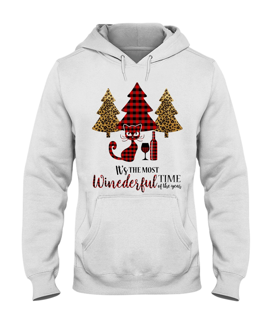 IT'S THE MOST WINEDERFUL TIME OF THE YEAR Hooded Sweatshirt