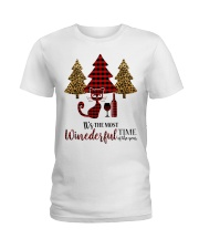 IT'S THE MOST WINEDERFUL TIME OF THE YEAR Ladies T-Shirt thumbnail