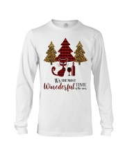 IT'S THE MOST WINEDERFUL TIME OF THE YEAR Long Sleeve Tee thumbnail
