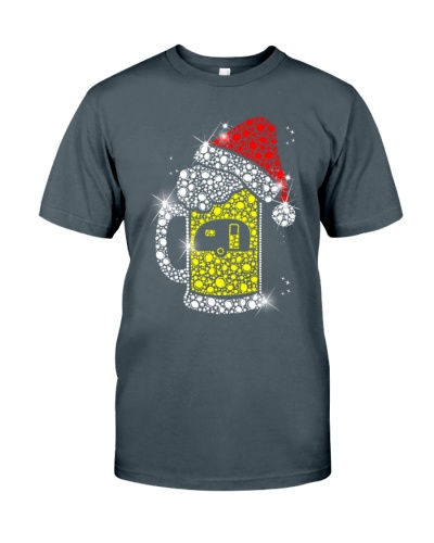 BEER AND CAMPING  - CHRISTMAS SHIRT