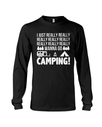 NEW I JUST REALLY WANNA GO CAMPING