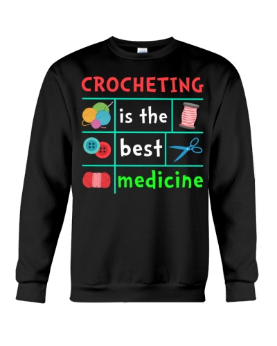 CROCHETING IS THE BEST MEDICINE