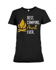 BEST CAMPING AUNT Premium Fit Ladies Tee thumbnail