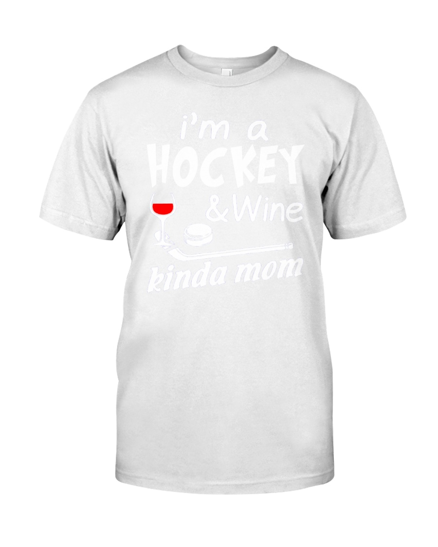 KINDA MOM - HOCKEY Classic T-Shirt