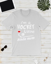 KINDA MOM - HOCKEY Classic T-Shirt lifestyle-mens-crewneck-front-17