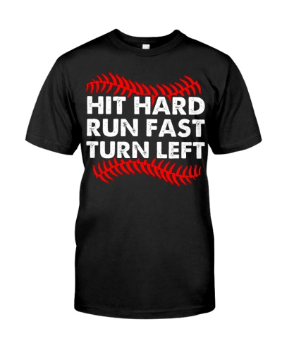 HIT HARD - BASEBALL SHIRT