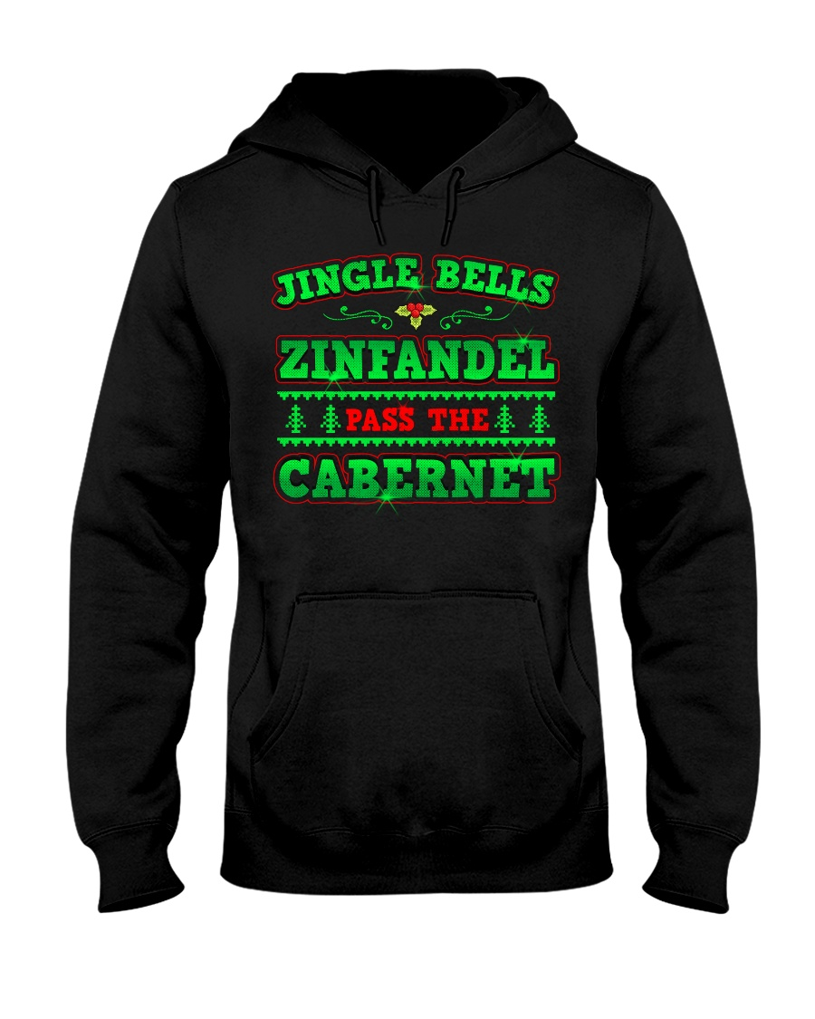 JINGLE BELLS  - CHRISTMAS SHIRT Hooded Sweatshirt showcase
