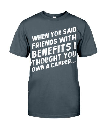 FRIENDS WITH BENEFIT - CAMPING SHIRT