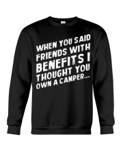 FRIENDS WITH BENEFIT - CAMPING SHIRT Crewneck Sweatshirt tile