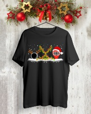 HOCKEY CHRISTMAS SPIRIT - NEW EDITION  Classic T-Shirt lifestyle-holiday-crewneck-front-2