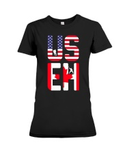 US EH - LIMITED EDITION  Premium Fit Ladies Tee thumbnail