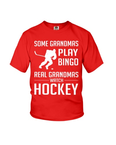 NEW REAL GRANDMAS WATCH HOCKEY