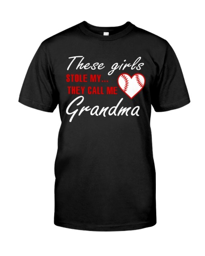 NEW THEY CALL ME GRANDMA BASEBALL SHIRT