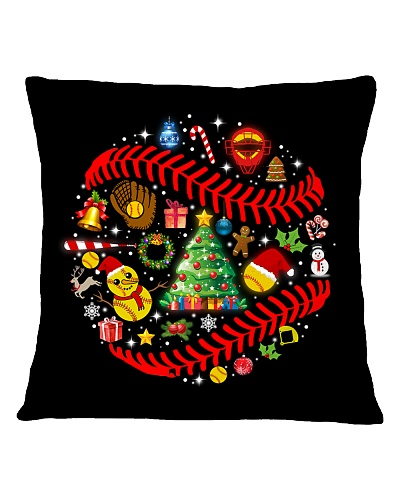 SOFTBALLCHRISTMAS PILLOW - LIMITED EDITION