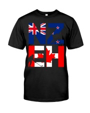 NEW ZEALAND AND CANADA Premium Fit Mens Tee thumbnail