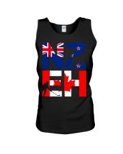 NEW ZEALAND AND CANADA Unisex Tank tile