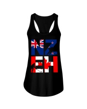 NEW ZEALAND AND CANADA Ladies Flowy Tank thumbnail