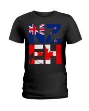 NEW ZEALAND AND CANADA Ladies T-Shirt thumbnail
