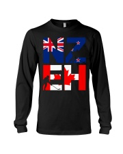 NEW ZEALAND AND CANADA Long Sleeve Tee tile