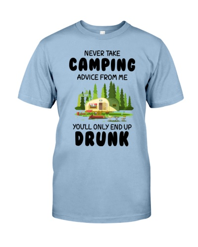 NEVER TAKE CAMPING ADVICE FROM ME