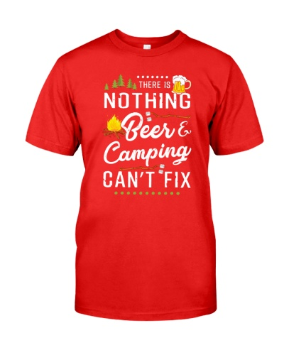 THERE IS NOTHING CAMPING SHIRT